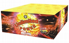 100 shots cake fireworks