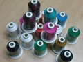 100% rayon embroidery thread 40 wt 1000m or 5000m per spool 1