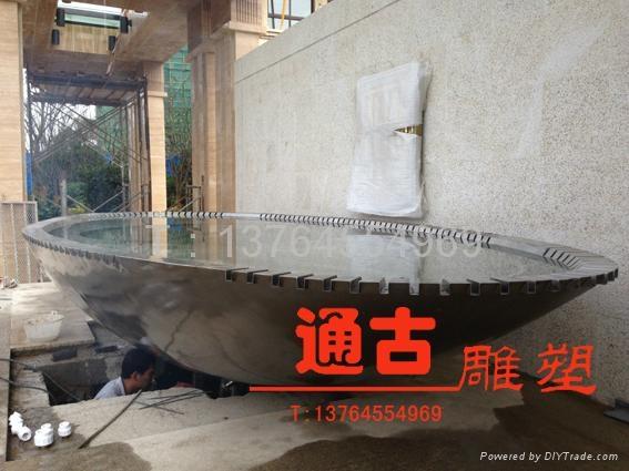 不锈钢水钵 1