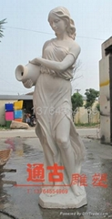 西方人物雕塑