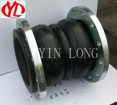 Flexible Double Ball Rubber Joint