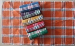 Cotton Checked Kitchen Towels