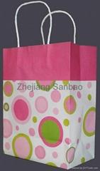 paper bag,shopping paper bag