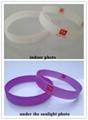 Printing Logo UV Silicone Wristband