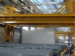 Aluminum profile electrophoresis production line