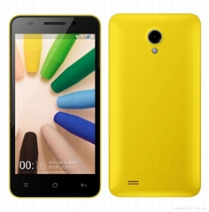 W450 smart phone 4.5 Inch MTK6582 Quad Core