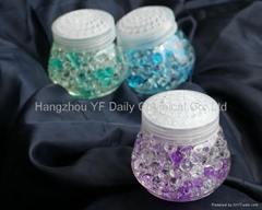 colored crystal air freshener