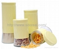 Glass Food Storage Collections - Assorted Colored