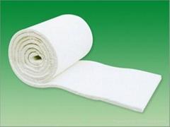 Aluminum silicate needled blanket