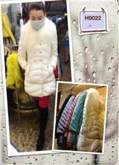 羊毛領羽絨服