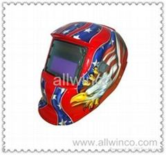 auto darken welding helmet