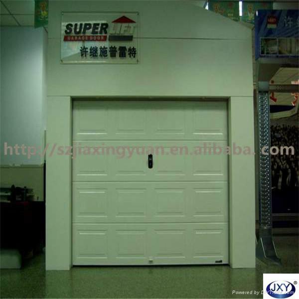Automatic Overhead Sectional Garage Door 1