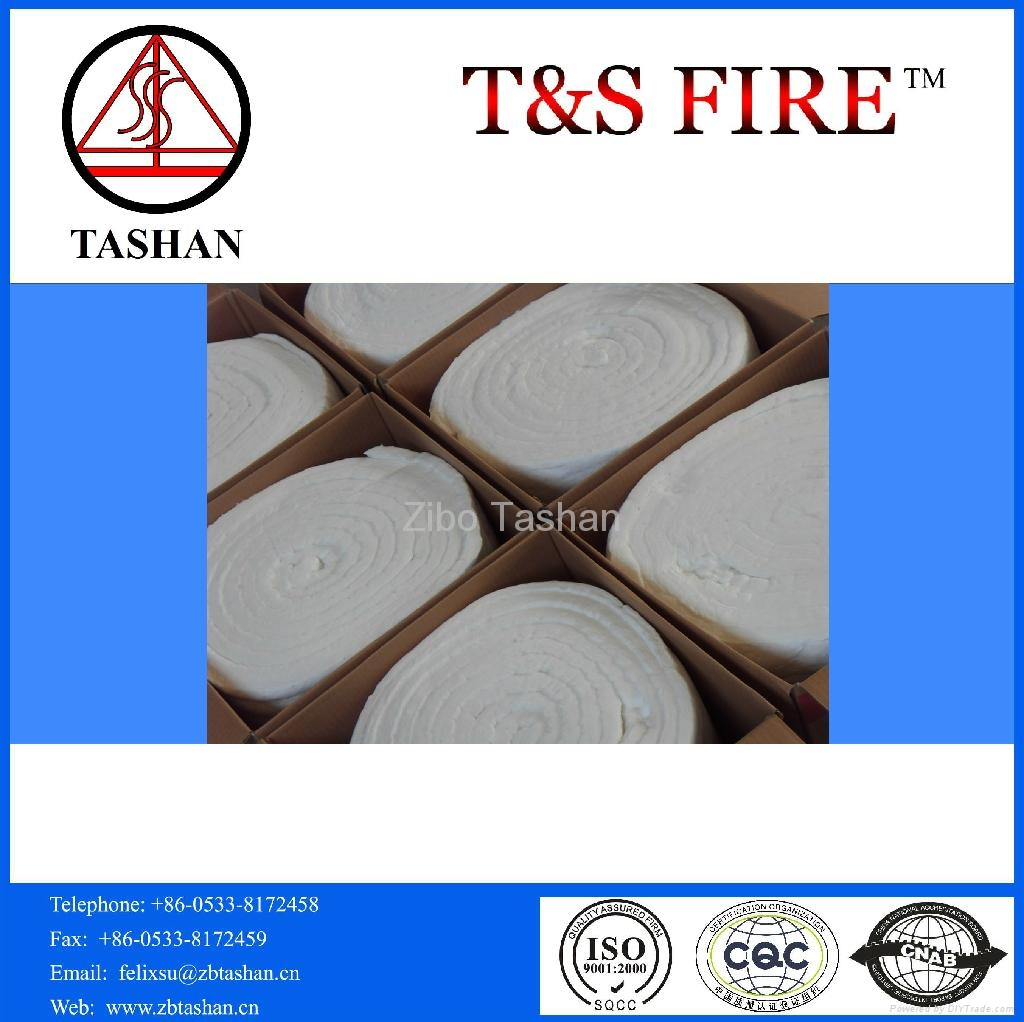 Ceramic fiber blanket 2