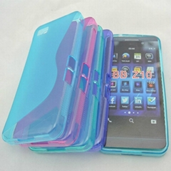 blackberry z10 sline soft tpu cover case