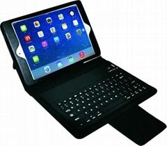ipad mini retina display bluetooth keyboard leather stand case
