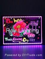 Ray Lighting RG4030 Tempered optical glass Led writing board
