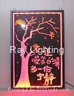 Ray Lighting RG7050 tempered optical glass led writing board