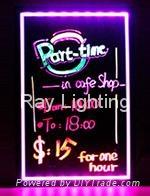 Ray Lighting RG10080 tempered optical glass led writing board
