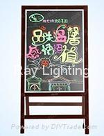 Ray Lighting RWAB9043 Wooden integrated Led writing board
