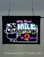 Ray Lighting RB4030K Desktop+Tempered optical glass Led writing board