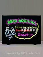Ray Lighting RB4838K Desktop+Tempered optical glass Led writing board