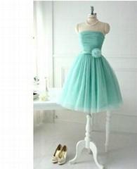mint bridesmaid dress wedding dress