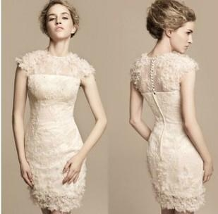 2013 Short Wedding Dress Wholesale 1