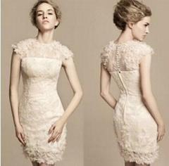 2013 Short Wedding Dress Wholesale