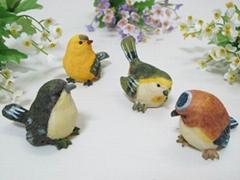 Office desk art bird ornaments wedding gift