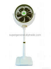 14''stand fan with wind