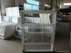 PVC Single Hung window