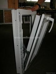 PVC tilt window