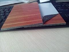 Wooden color aluminum composite panel ACP ACM plates