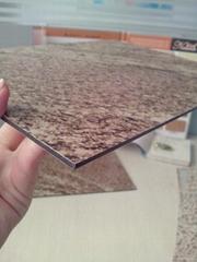 Stone color aluminum composite panel