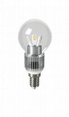 3W E14 LED Bulb clear