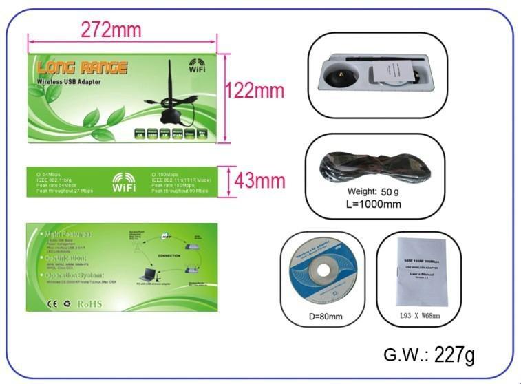 RT5070 High Power Wireless USB Adapter 4