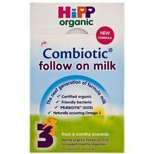 Hipp Organic Follow-On Milk 800G x 6: Expire 2015