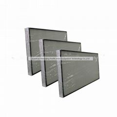 Mini pleat Hepa air filters