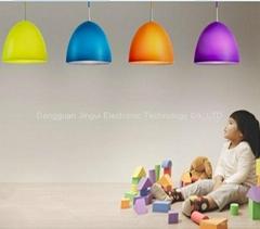 Designer fashion colorful hanging ceiling lamp shades