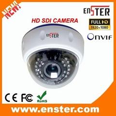 2.0 MP Indoor Plastic IR Dome HD SDI