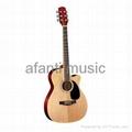 """Cutaway Acoustic Guitar 41"""""""