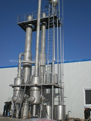 Double-Effect Falling Film Evaporator Juice Concentrator