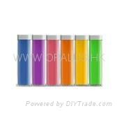 Lip gloss mobile power supply  2200Mah 1