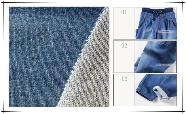 new jeans fabric/knit denim 2