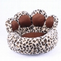 Cute Pet Dog House Bed Nest Puppy Cat Soft Beds Plush Warm Luxury House Kennel P 3