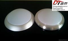 Circular PMMA LED plastic lampshades