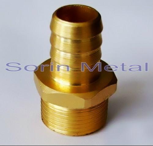 Brass fitting cnc machining part sr sorin china