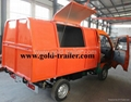 Electric Sanitation Truck garbage dumper vehicle  1