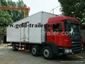 FRP Refrigerated Truck Body Fruits and