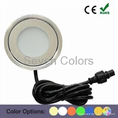 Indoor Decoration Ultra Thin Mini Stainless Steel Led Floor Light
